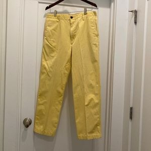 Dockers Yellow Chinos 32x30